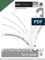 ANTOLOGIA DE LECTURAS LEEMOS MEJOR CADA DIA TERCER GRADO