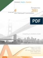 2011 Convention Prospectus FINAL