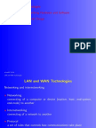 Lan and Wan Technologies Networking Internet Working Hardware 4689