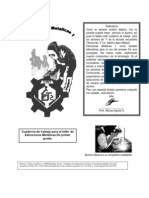 Soldadura Cuaderno de Trabajo de 1° de secundaria tecnica recopilacion