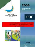 SALUD PUBLICA Y EDUCACION SANITARIA