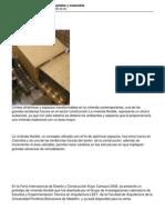 Vivienda Flexible Modular Ampliable y Sostenible