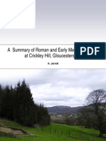 A Summary of Roman and Early Medieval activity at Crickley Hill, Gloucestershire
