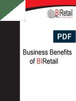BIRetail Benefits