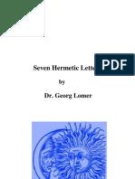 Hermetic Letters