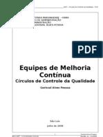Apostila Círculos de Controle da Qualidade (CCQ)