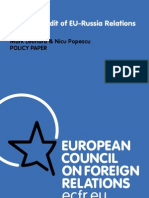 ECFR EU Russia Power Audit