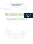 Materiales Básicos Estudiantes 1er Semestre 2011B