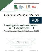 Guia Didáctica Inglés I 2011-B estudiantes