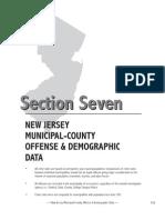 2009 Sect 7 NJ Crime Report