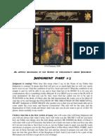 Judgment 1-4 Video Teachings-19 of January 2009