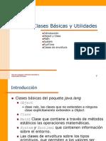 Clases Basicas y Utilidades