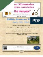 Seven Mountains Bluegrass Newsletter June, July, August 2011