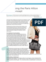 Developing The Paris Hilton Retail Shop Concept by Jens Gregersen