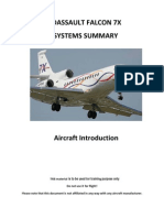 Falcon 7X-Aircraft Introduction