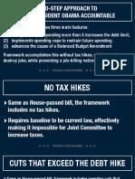 Debt Deal Framework Boehner