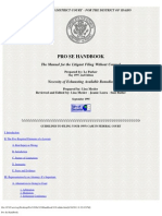 Pro Se Handbook -Idaho