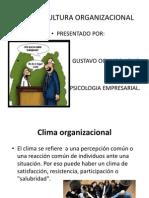Clima y Cultura Organizacional Gus1