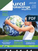 """""""Natural Awakenings"""" Magazine, August 2011 issue."""