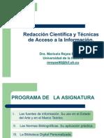 TEMA I Presentacion Del Curso de Acceso a ion