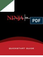 Ninja Blade Quick Start Guide
