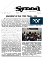 Synod Newsletter - July, 2011