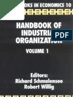 Handbook- Handbook of Industrial Organization VOL I