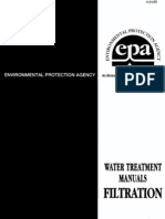 Epa Water Treatment Manual Filtration 1