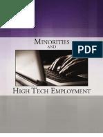Minorities and High Tech Employment eBook