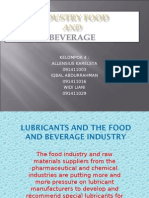 Lubricants and the Food and Beverage Industry