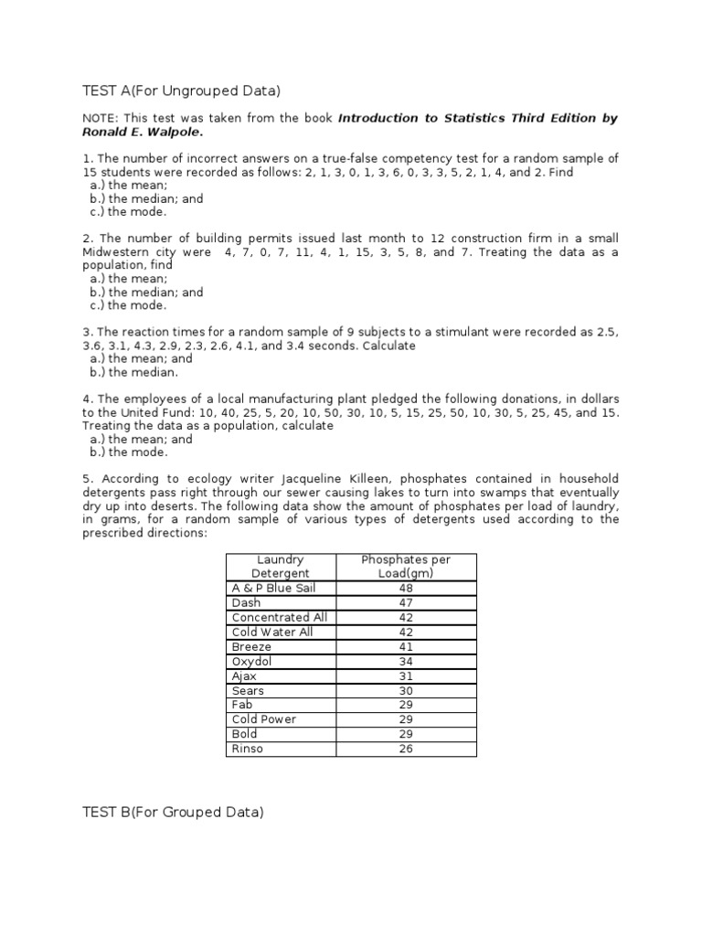 Ideas of Measures Of Central Tendency Worksheets 7th Grade For ...