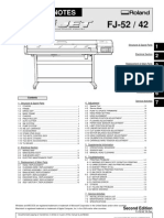 Roland FJ52 Service Manual