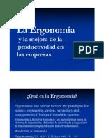 001_Ergonomia y Productividad en La Industria