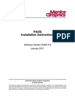 PADS 9.3 Install