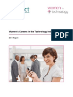 Women's Careers in the Technology Industry 2011 Report