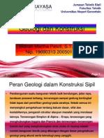 Geologi Dan Konstruksi