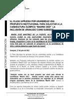 Madrid 2020 - Un sueño también para Aranjuez