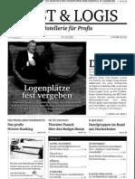 Logenplätze fest vergeben in der Cost Logis Ausgabe 10/2011