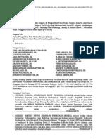 Gugatan TUN Tailing NNT 290711