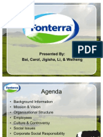 Fonterra Presentation- Final