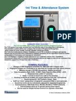 T-23 Fingerprint System