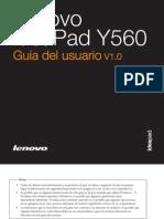 Manual Lenovo y560