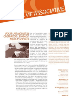 La Vie Associative | n°3 | Pour une nouvelle culture de l'engagement associatif