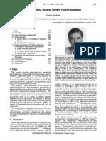 Solvatochromic Dyes as Solvent Polarity Indicators