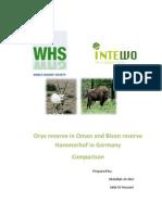 SQU Internship 2011 - Hammerhof
