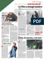 Diddy en concert à Cannes - Le Parisien - 31 août 2011
