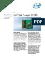 Intel Media Processor CE3100