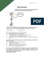 Homework 05 Basic Routing iPMAC