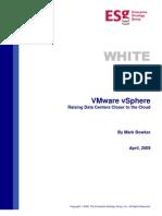 ESG White Paper VMware vSphere Apr 09