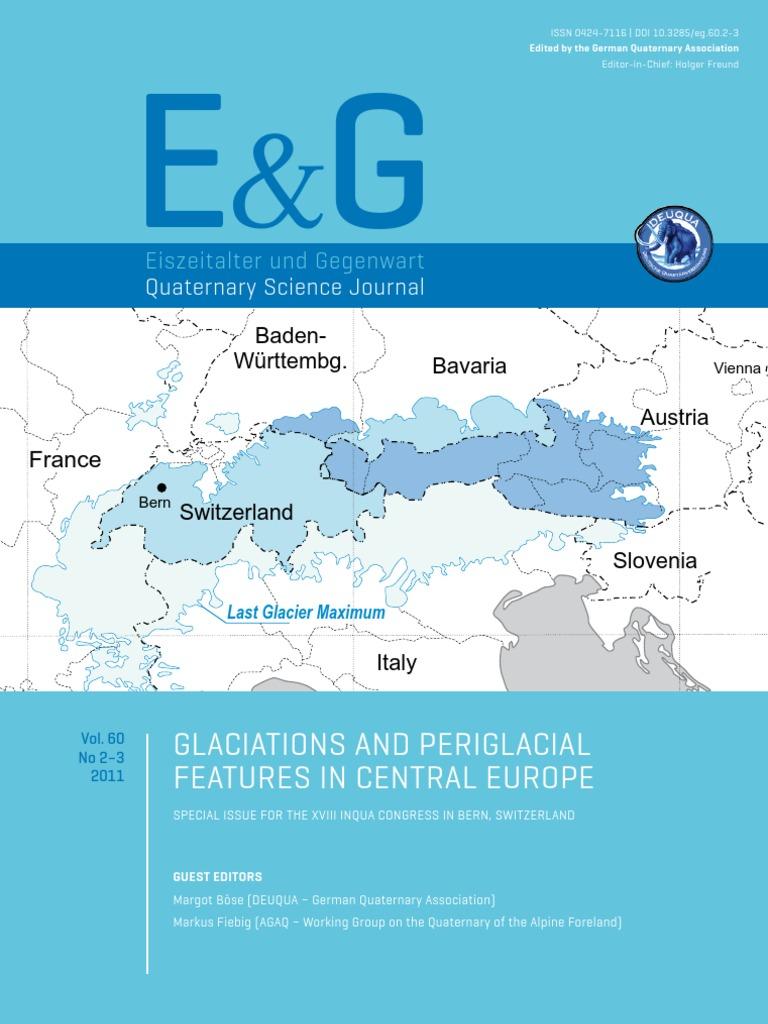 E&G - Quaternary Science Journal: Glaciations and periglacial ...